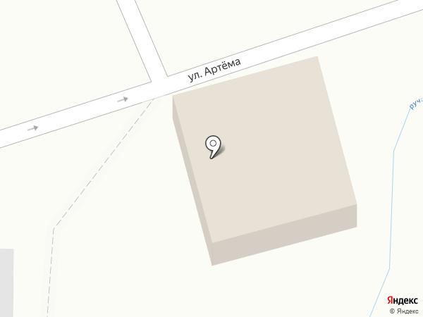 Ручеек на карте Курска