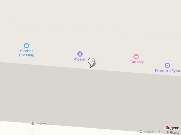 ФРАНТ на карте Курска