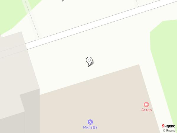 Милада на карте Курска