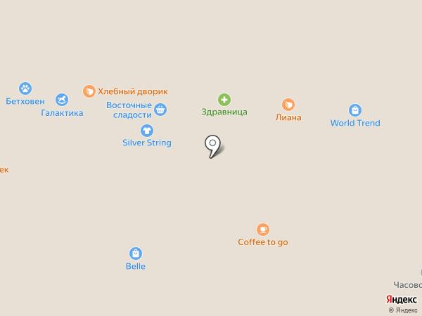 Denny Rose на карте Курска