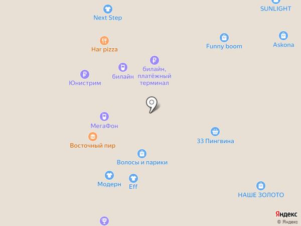 Восточный пир на карте Курска