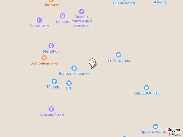 Eff на карте Курска