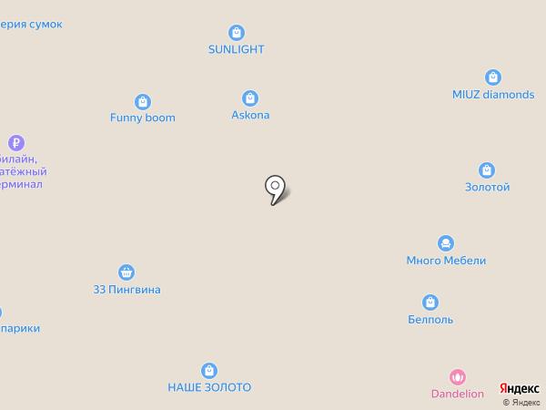 НТВ-ПЛЮС на карте Курска
