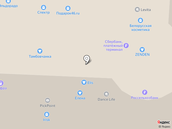 Irisk на карте Курска