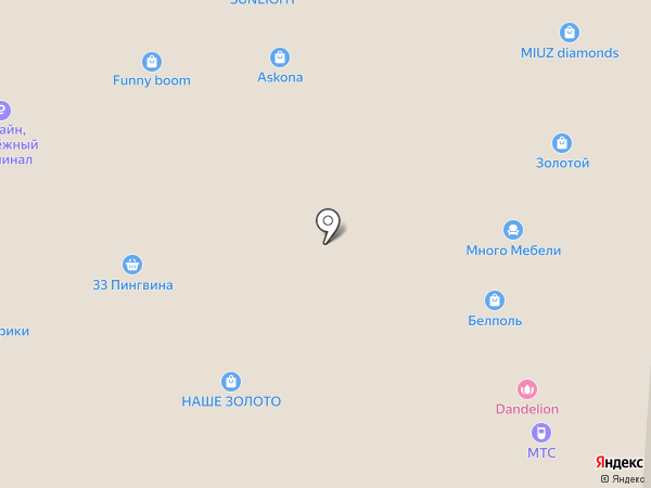 SUNLIGHT на карте Курска