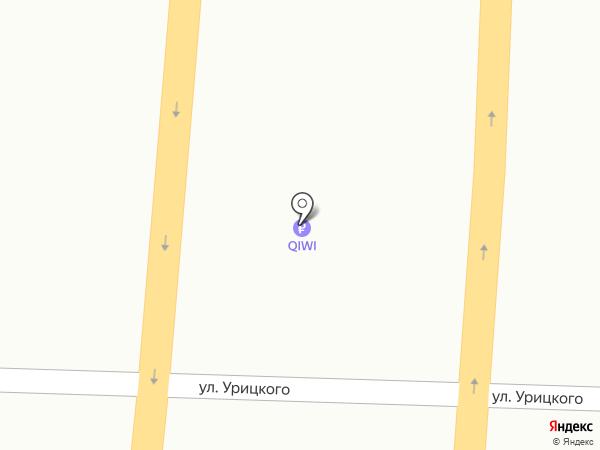 Столовая №1 на карте Курска
