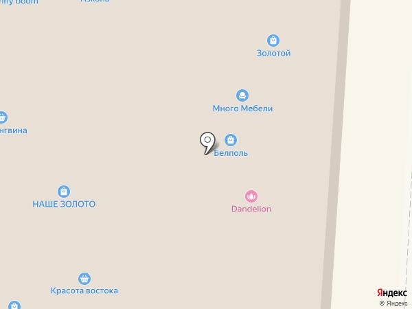 Магия востока на карте Курска