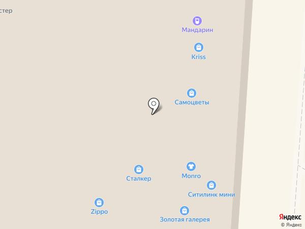 Карат на карте Курска