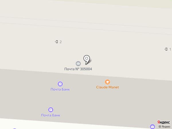 Курский сувенир на карте Курска