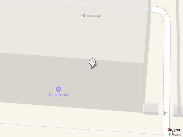Коника на Павлова на карте Курска