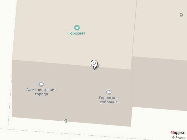 Контрольно-ревизионное управление на карте Курска