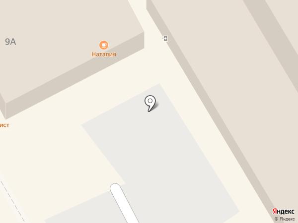 Наталия на карте Курска