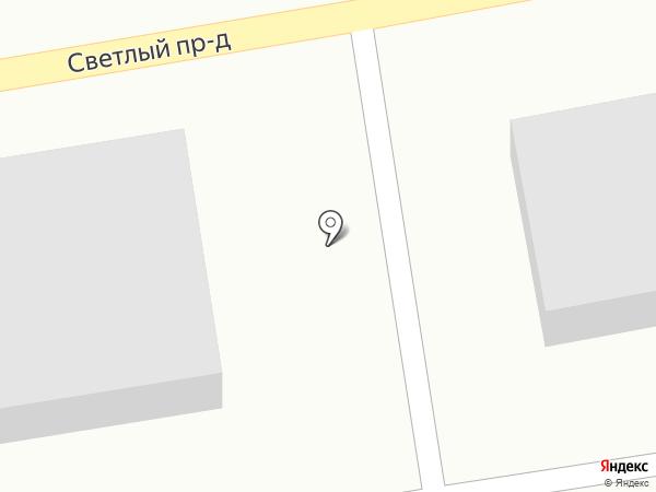 Заря на карте Курска