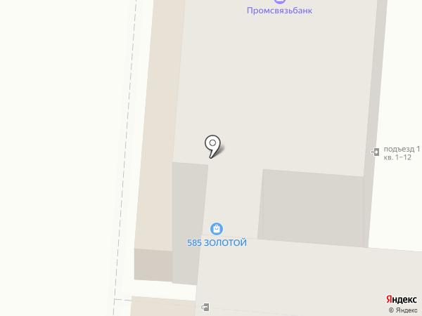 585 на карте Курска