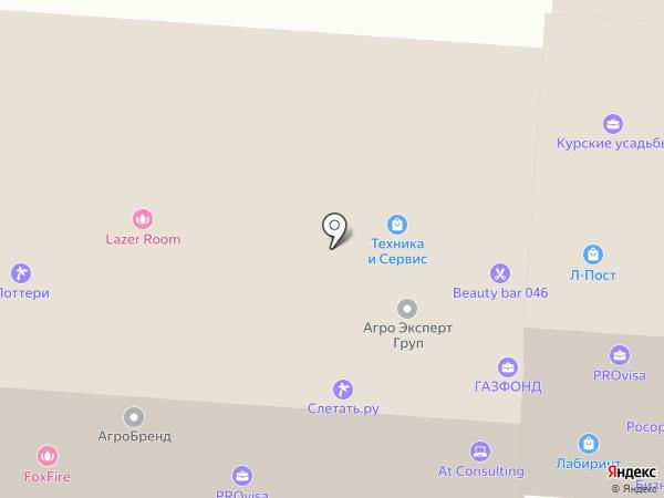 Городская справочная служба аптек на карте Курска