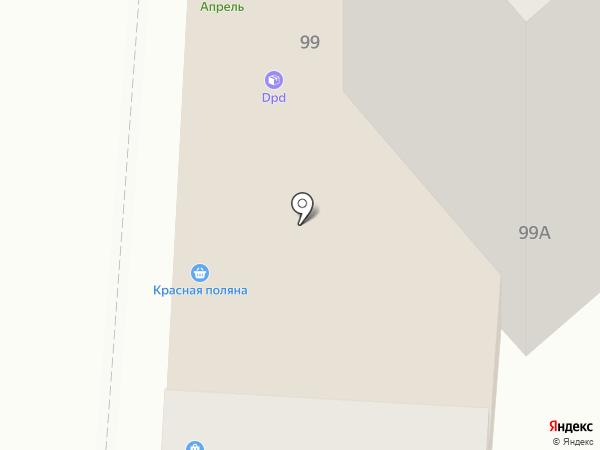 Торнадо на карте Курска