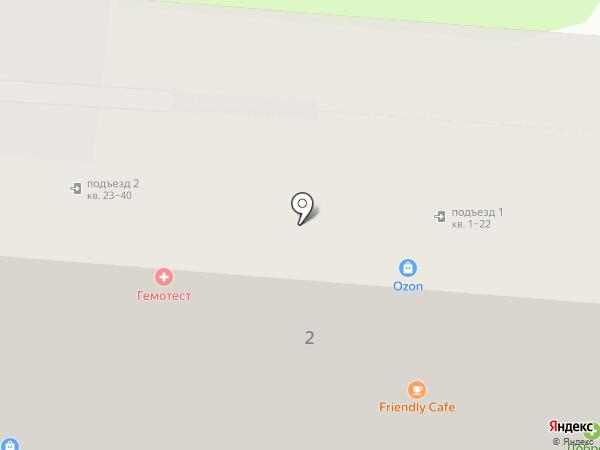 Доброго здоровья на карте Курска