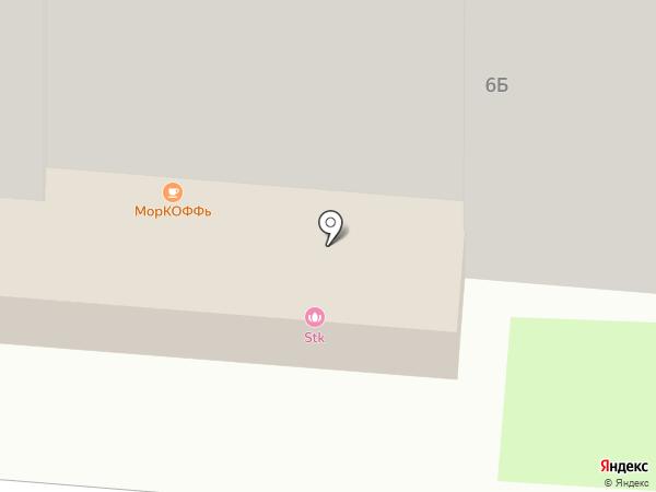 ЧЕРДАК на карте Курска