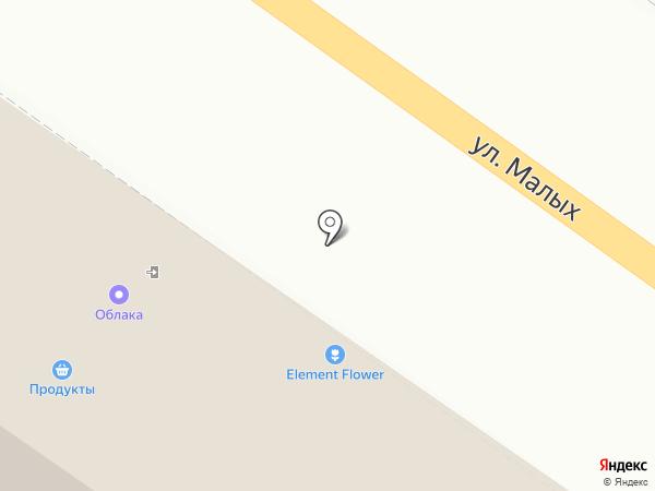 Магазин продуктов на карте Курска