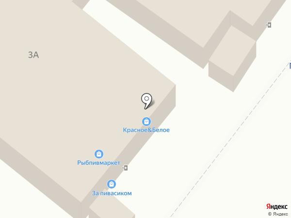 Красное & Белое на карте Курска