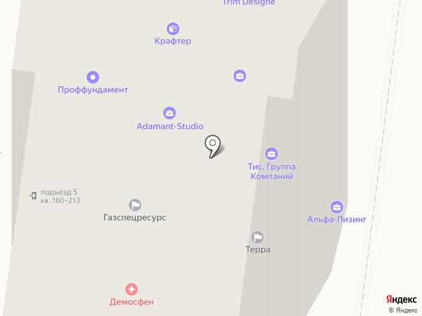 Улыбка на карте Курска