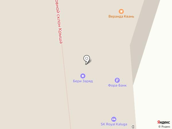 Банкомат, АКБ ФОРА-БАНК на карте Калуги