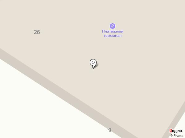 Магнит на карте Калуги