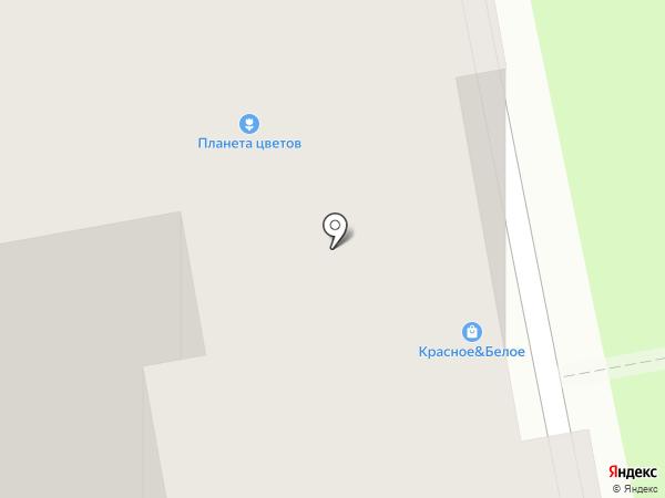 Красное & Белое на карте Калуги