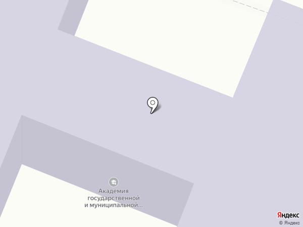 Курская академия государственной и муниципальной службы на карте Курска