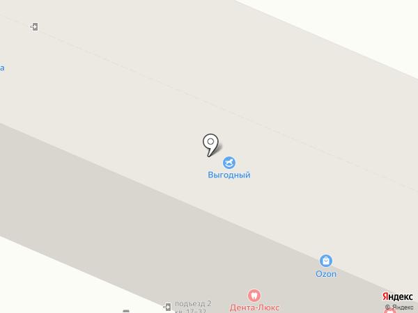 Сочная мебель на карте Курска