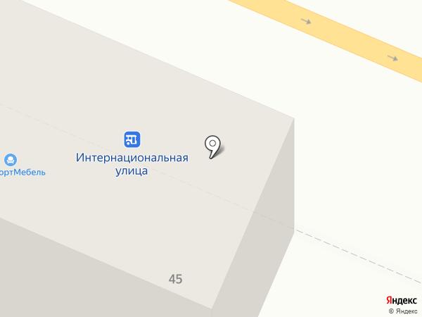 КомфортМебель на карте Курска