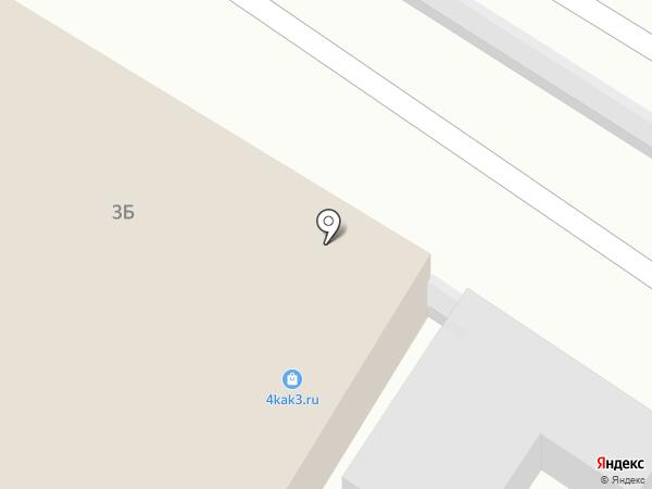 Автомойка46 на карте Курска