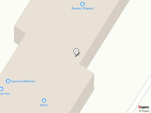 Интершина на карте Курска