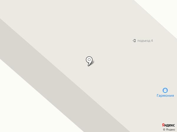 Дом на Заречной на карте Калуги