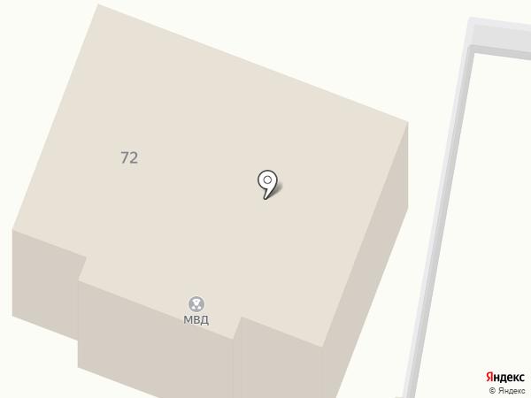 Курский линейный отдел МВД России на транспорте на карте Курска