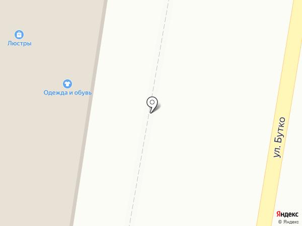 Магазин свежего мяса на карте Курска