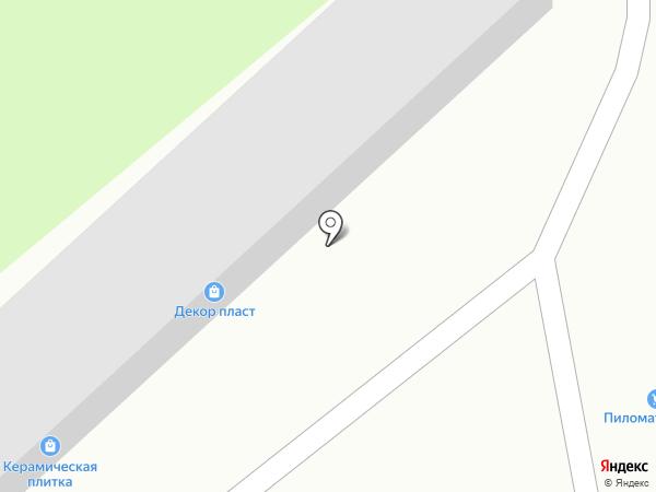 Магазин отделочных и строительных материалов на карте Калуги