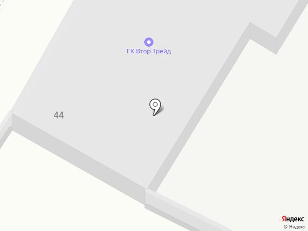 Продуктовый склад на карте Курска