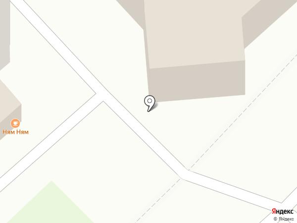 Звездный на карте Калуги