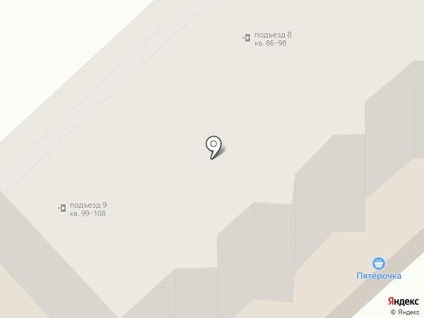 Перекресток на карте Калуги