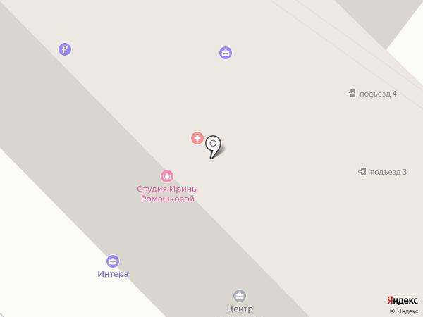 Интера на карте Калуги