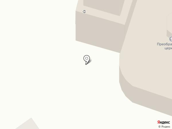 Храм в честь Преображения Господня на карте Калуги