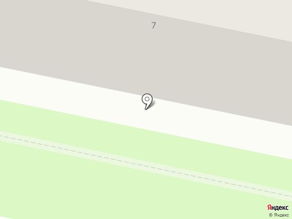Пиранья-монтаж на карте Калуги