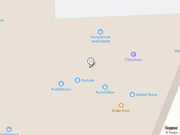 А-Мега на карте Калуги