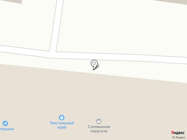 Любава на карте Курска