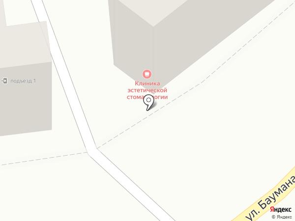Клиника эстетической стоматологии на карте Калуги