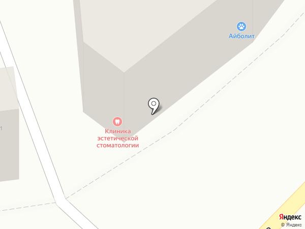 Офсет на карте Калуги