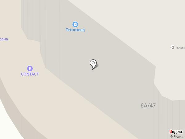 Трансснабстрой на карте Калуги