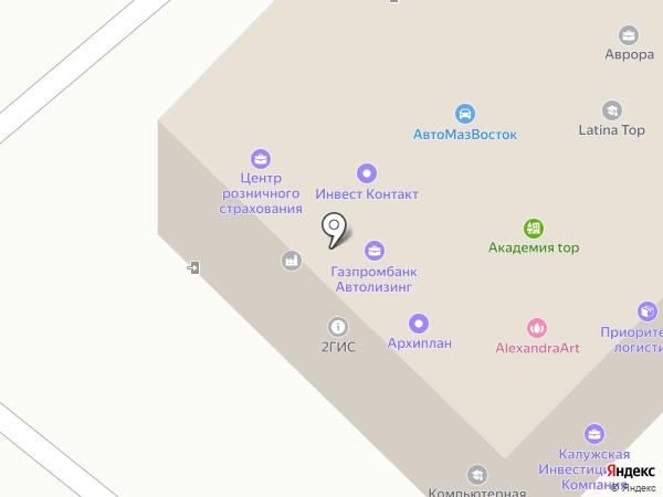 Центр розничного страхования на карте Калуги