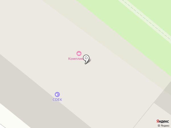 Комплимент на карте Калуги